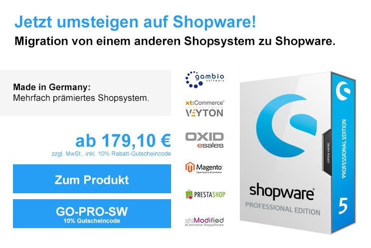 Migration von einem anderen Shopsystem zu Shopware
