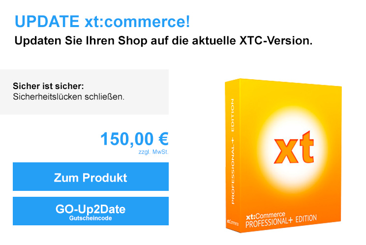 Update xt:commerce 4