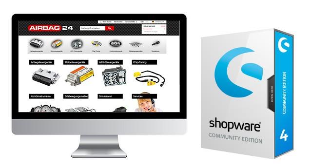 Anpassung Standard Template Shopware 4