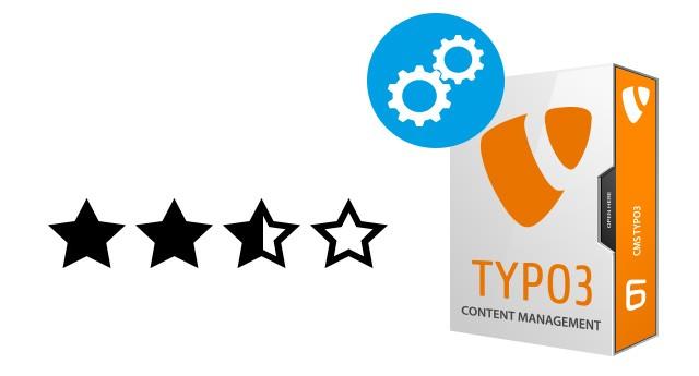 Plugin Bewertung / Rating von Inhalten für Typo3