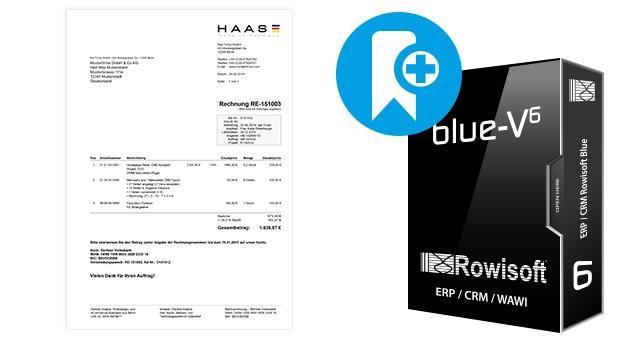 Druckvorlagen für Rowisoft BLUE (Bauunternehmen)