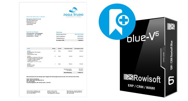 Druckvorlagen für Rowisoft BLUE (Handel B2C)