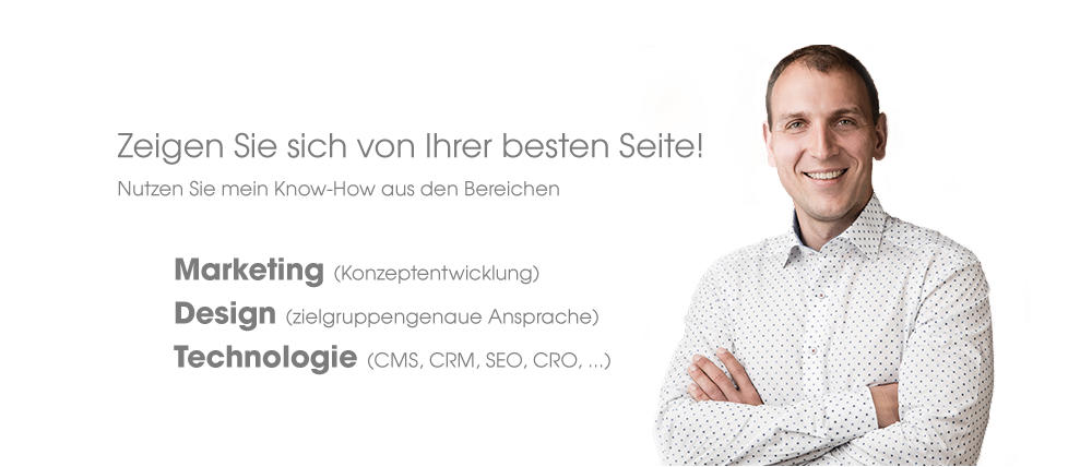 Mein Know-How: Marketing, Design, Technologie